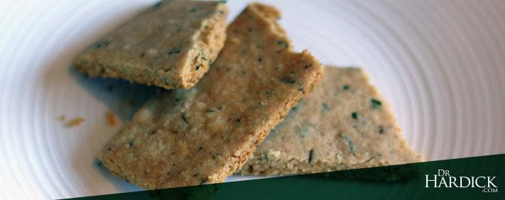 Grain-free Vegan Herb Crackers