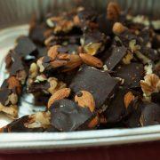 Sugar-Free Chocolate Bark