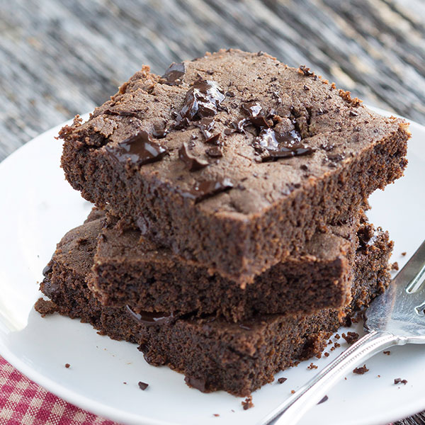 Chocolate Chunk Brownies - Healthy Food Recipes | DrHardick