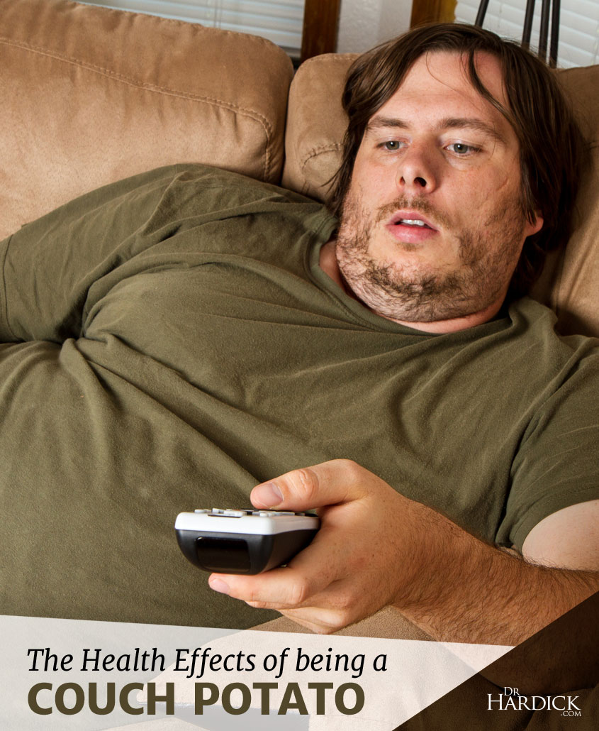 Being A Couch Potato Has Disastrous Effects On Your Health
