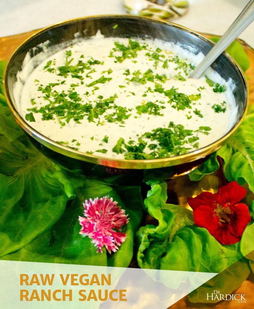 Raw Vegan Ranch Sauce