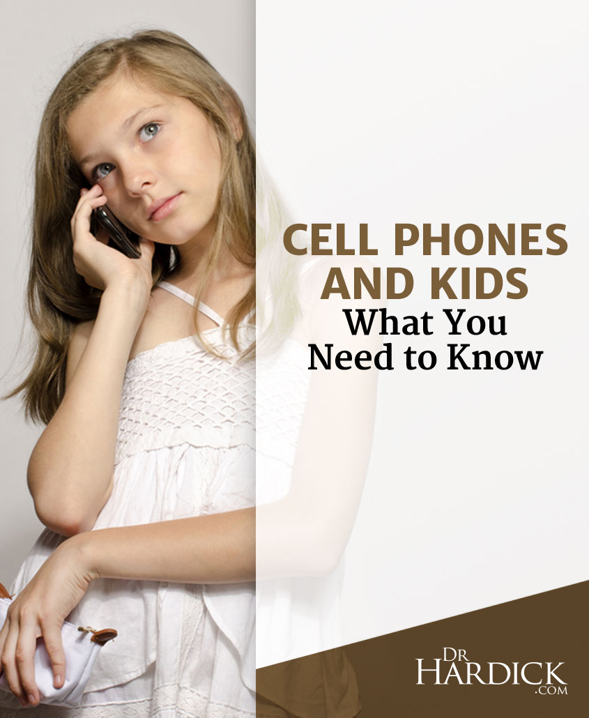Cell Phones Shown To Be Dangerous, Especially To Kids