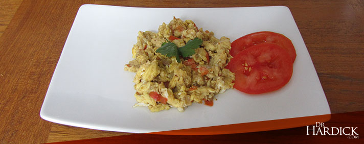 Scrambled Eggs Masala Recipe
