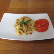 Scrambled Eggs Masala