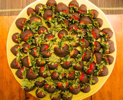 Stevia Chocolate Strawberries
