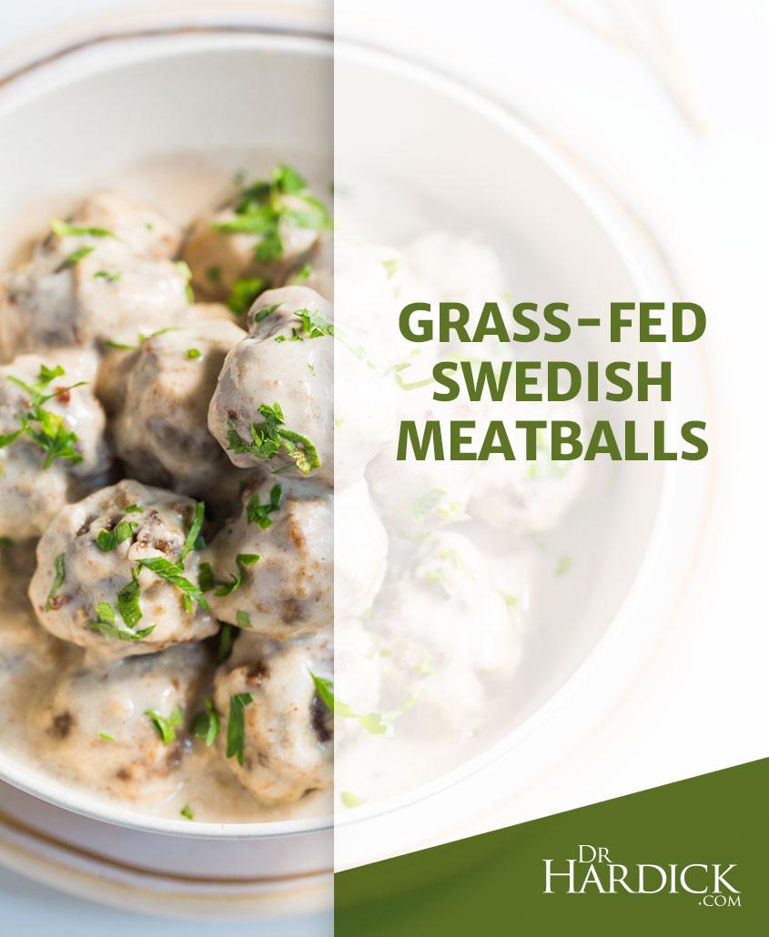 Grass-Fed Swedish Meatballs