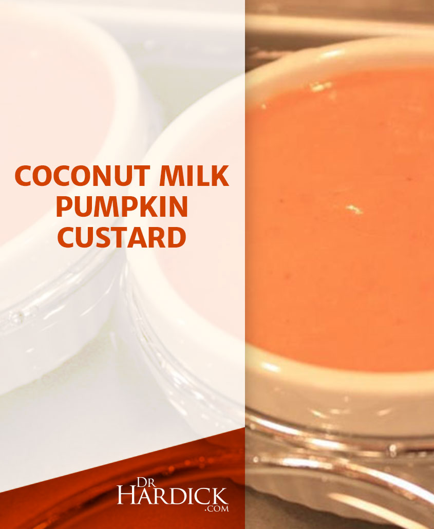 Coconut Milk Pumpkin Custard