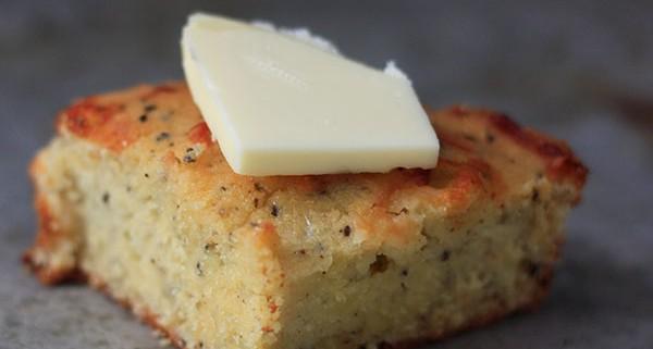 Cheesy Garlic Coconut Flour Bread