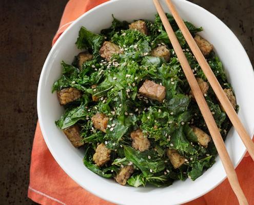 Kale Tahini Salad