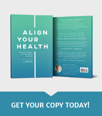 Align Your Health Book by Dr. Hardick