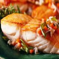 Baked Wild Halibut Steaks