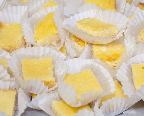 Almond Flour Lemon Bars