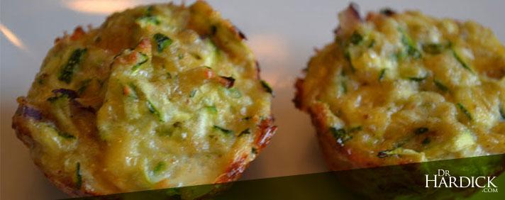 3 Cheese Zucchini Bites