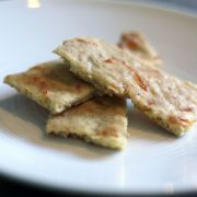 Cheesy Paleo Crackers