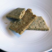 Grain-free Vegan Herb Crackers