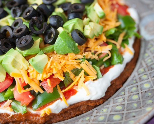 Nine Layer Taco Dip
