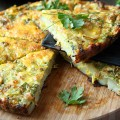 Coconut Milk and Curry Frittata