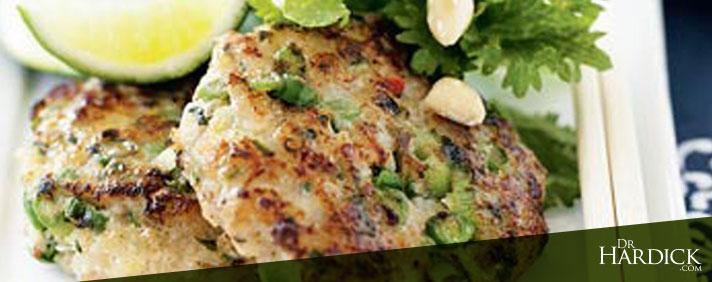 Asian Halibut Fish Cakes
