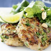 Asian Halibut Fish Cakes