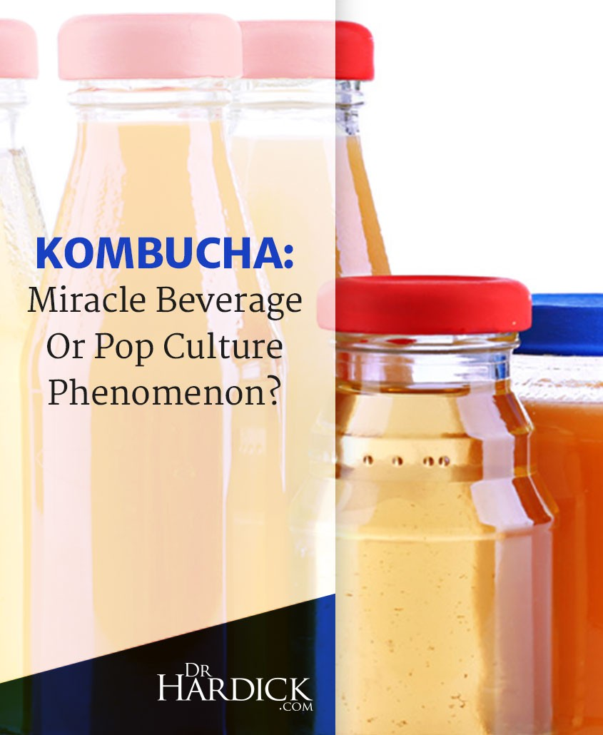 Kombucha : Miracle Beverage or Pop Culture Phenomenon?
