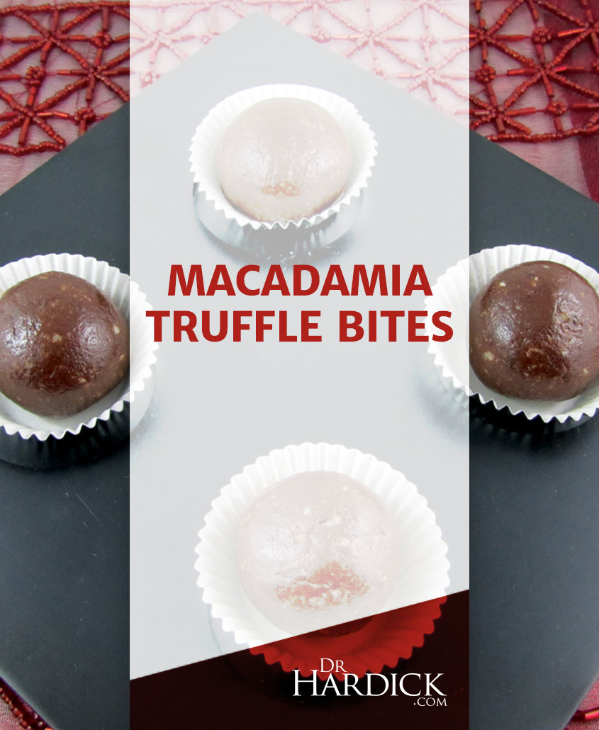 Macadamia Truffle Bites