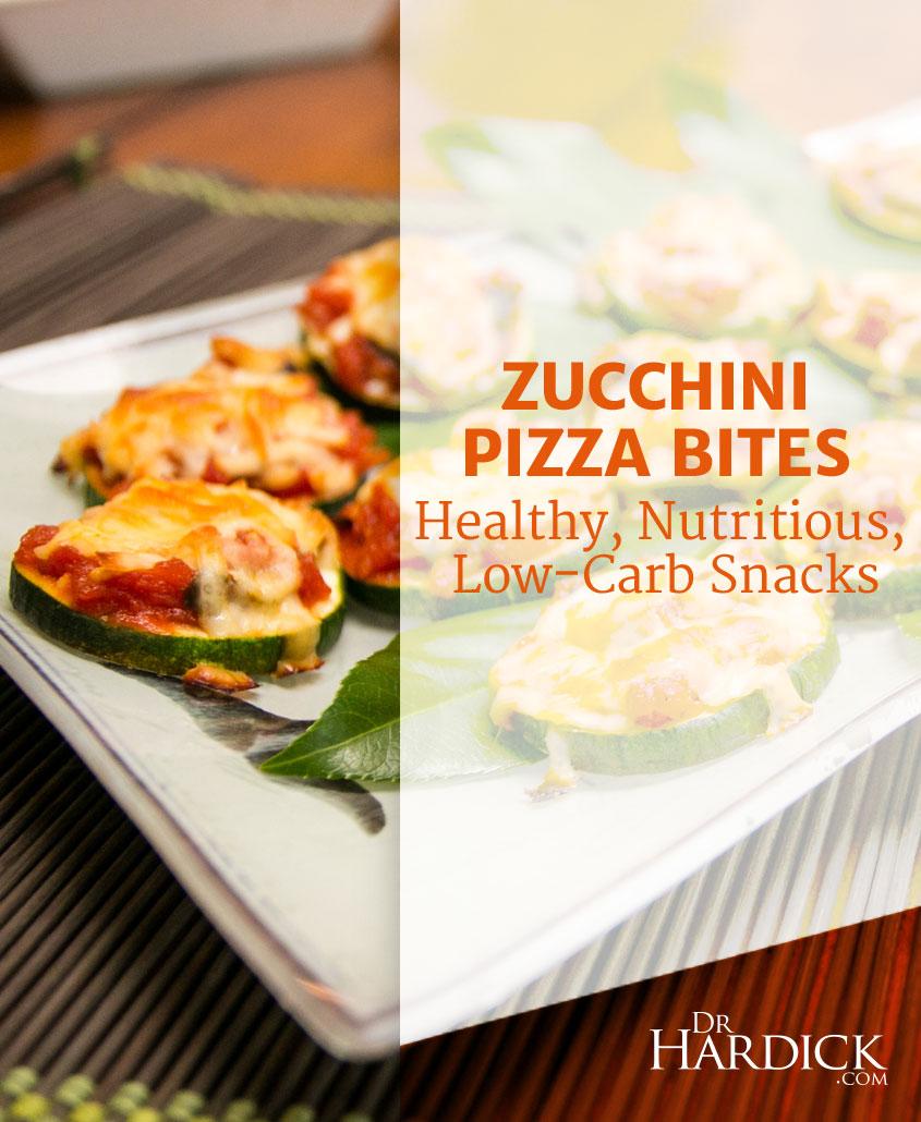Zucchini Pizza Bites
