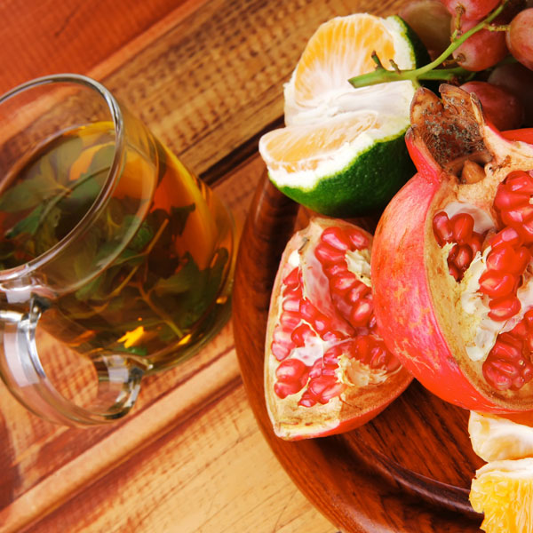 Fighting Diarrhea: Study supports Green Tea and Pomegranate Extract as Natural Preventatives