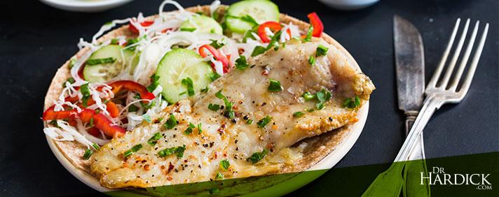 Fish Tacos with Baja Slaw