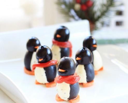 Organic Cream Cheese Penguins