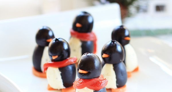 Organic Cream Cheese Penguins