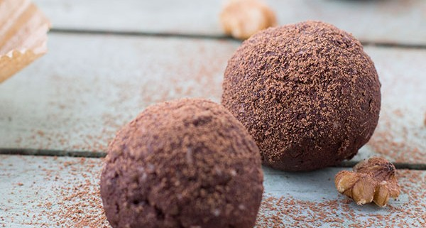 Raw Brownie Balls