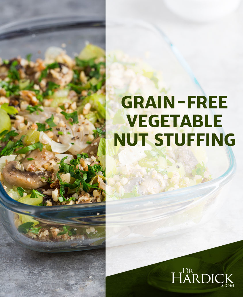 Grain-free Vegetable Nut Stuffing