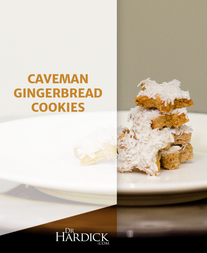 Caveman Gingerbread Cookies