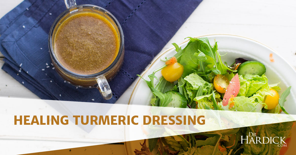 Healing Turmeric Dressing Recipe