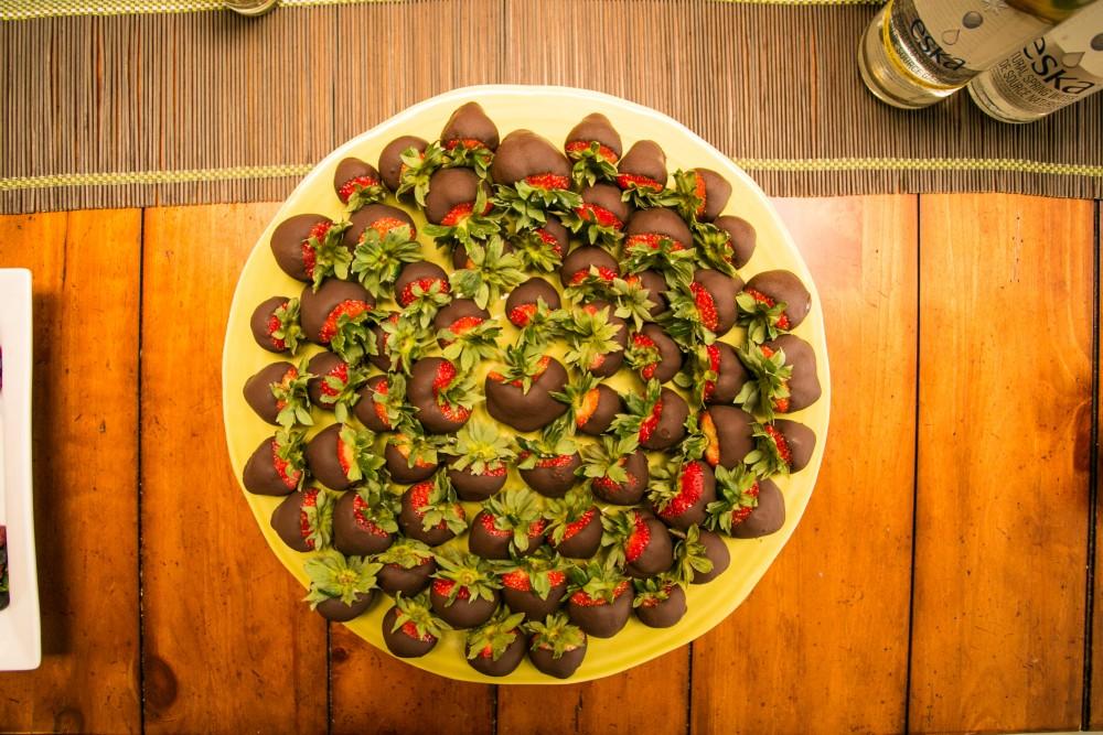Sugar-Free Valentine's Day Treats Stevia Chocolate Strawberries