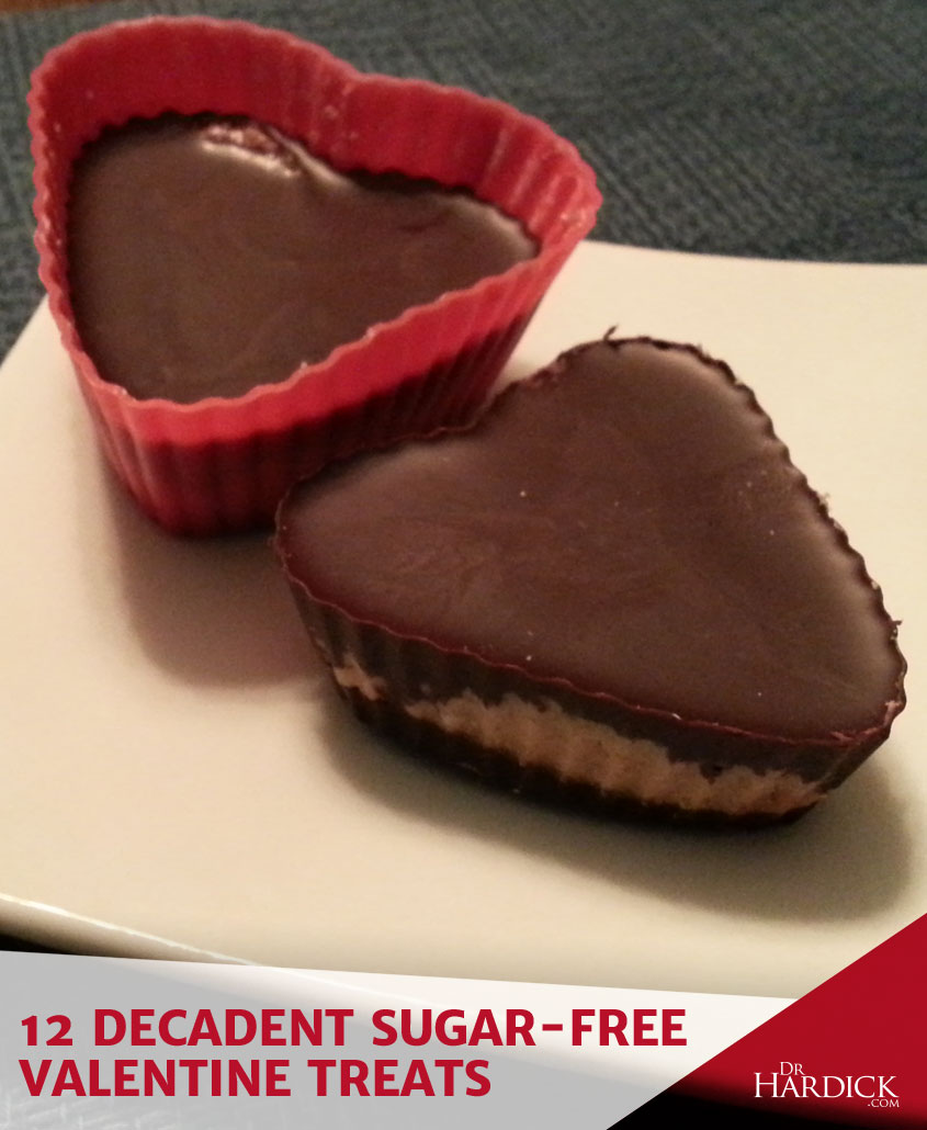 Decadent Sugar-Free Valentine Treats