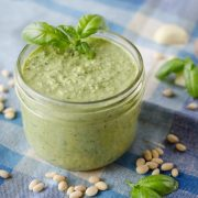 Garden Fresh Basil Pesto