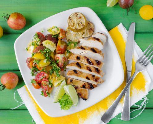 Organic Lemon Chili Chicken