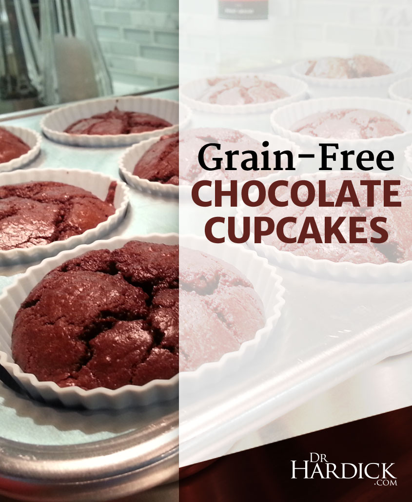 Grain-Free Chocolate Cupcakes