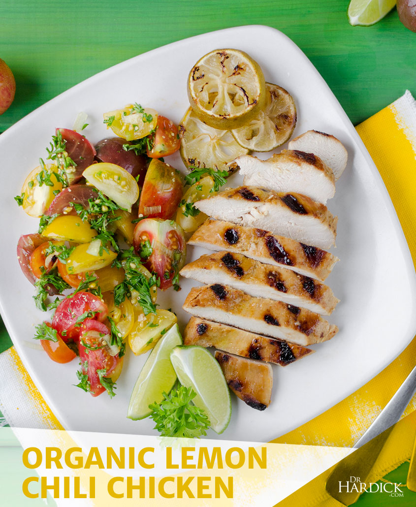 Organic Lemon Chili Chicken