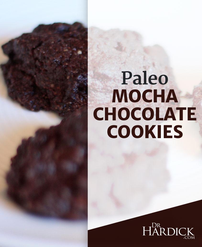 Paleo Mocha Chocolate Cookies