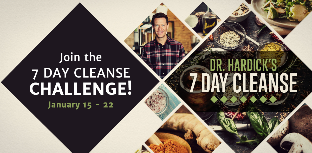 Dr. Hardick 7 Day Cleanse Challenge