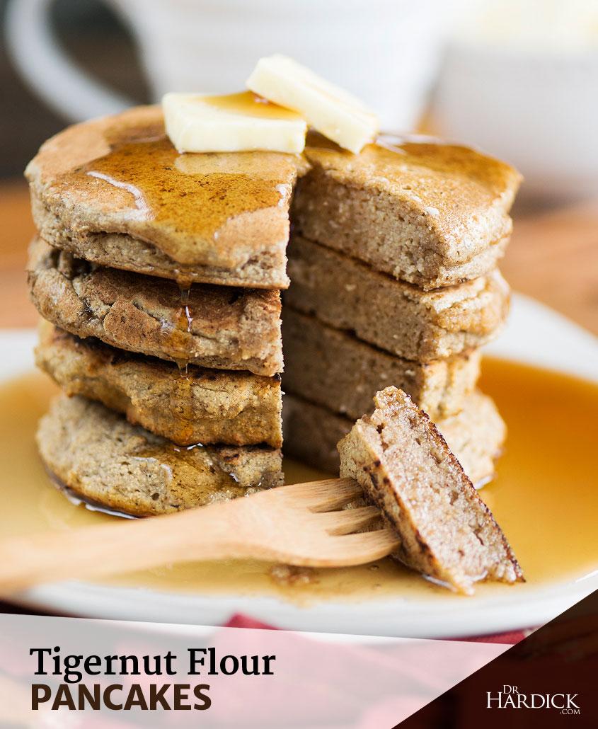 Grain Free Pancakes - Tigernut Flour Recipe