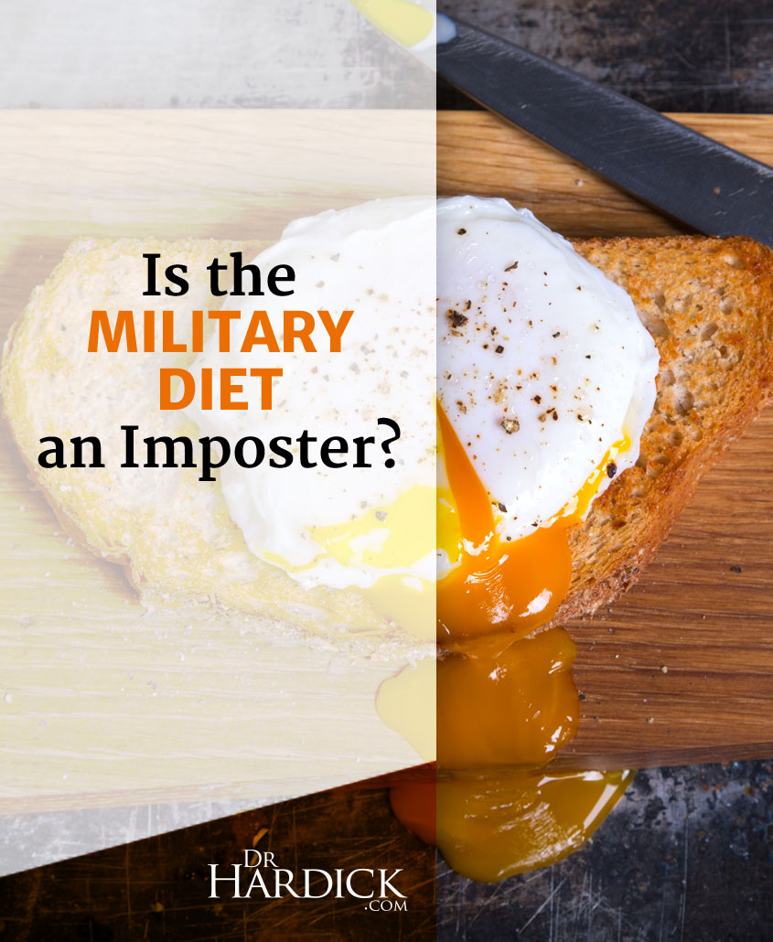 Nothing to See Here: Why the Military Diet Probably Won't Work for You