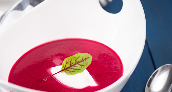Roasted Red Beet Soup